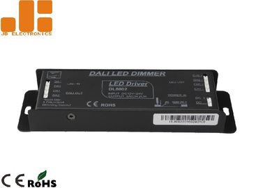Aluminium Alloy Shell LED DALI Dimmer , Max 6A*2CH Output LED Driver Dimmer